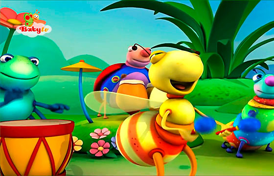 Big bugs Band Reggae - Baby TV