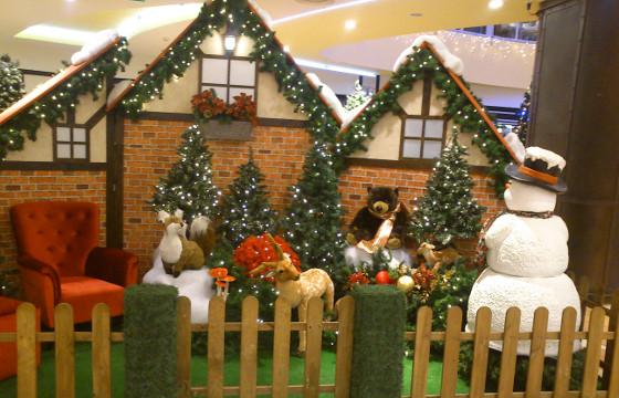 Pai Natal no Estação Viana
