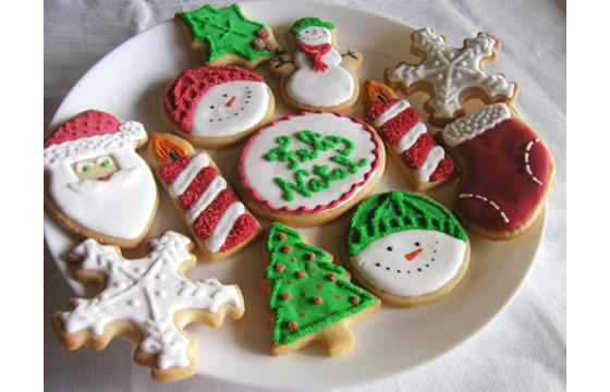 Receita de Bolachas de Natal