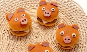 Hamburger de Porquinho