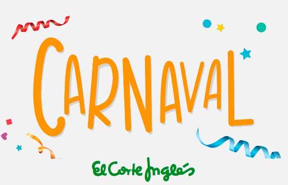 Carnaval no El Corte Ingles