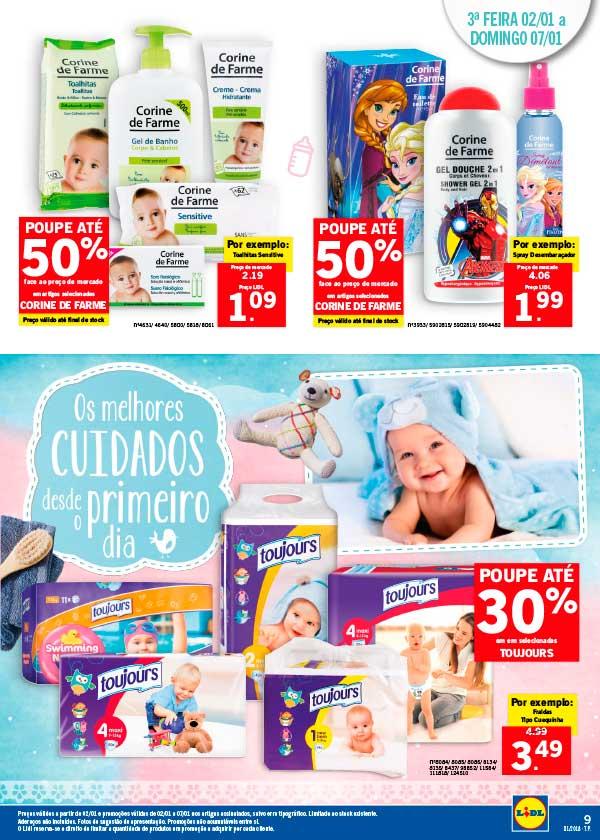 folheto LIDL Bebés Felizes