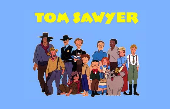 As aventuras de Tom Sawyer - Portal das Crianças   560 x 360 png 165kB