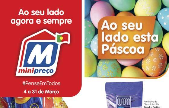 Folheto de Páscoa Minipreço