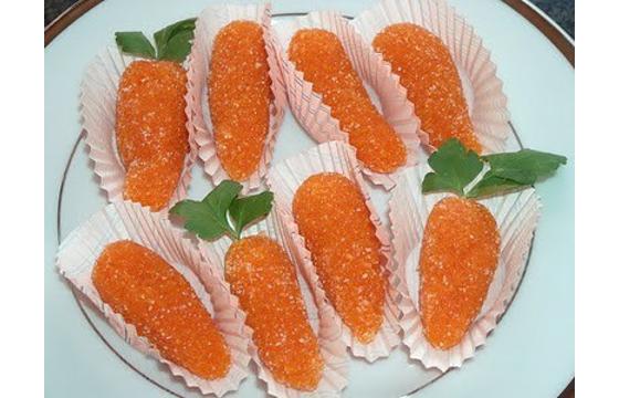 Receita de Cenouras de Páscoa