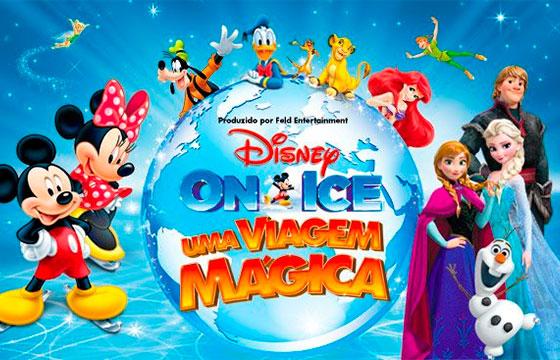 DISNEY ON ICE - Uma Viagem Mágica