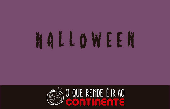 Folheto Continente Halloween