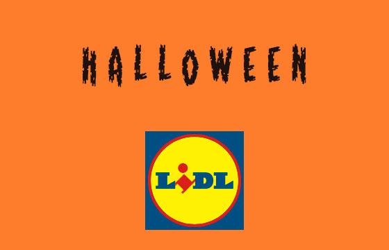 Halloween no LIDL
