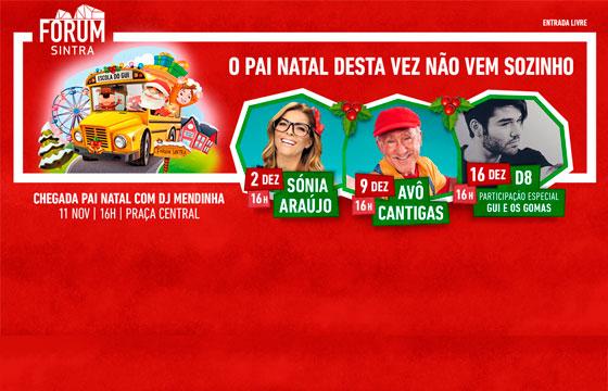 Natal no Forum Sintra