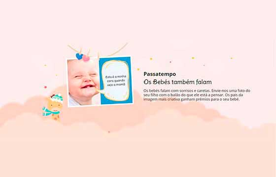 imagem universo do bebé - passatempo