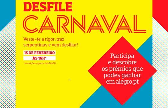 Carnaval no Alegro Alfragide