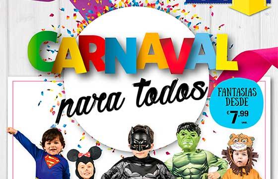 Folheto Continente Especial Carnaval