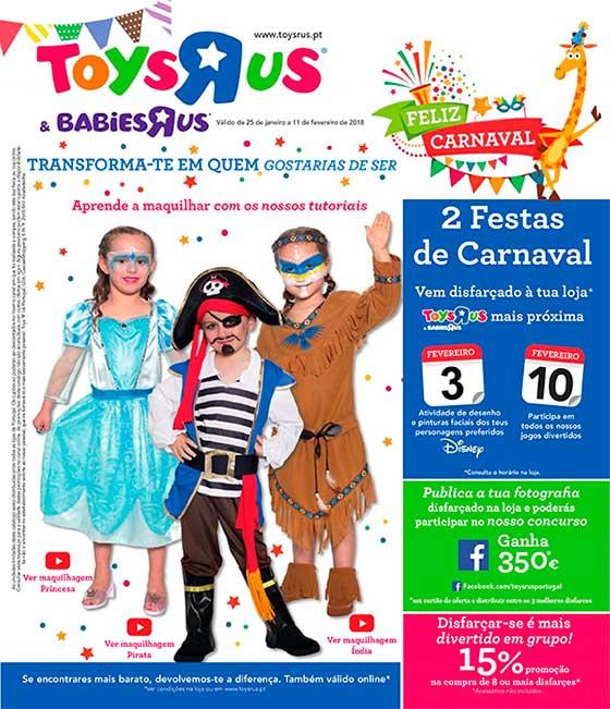 Folheto de Carnaval TOYSRUS