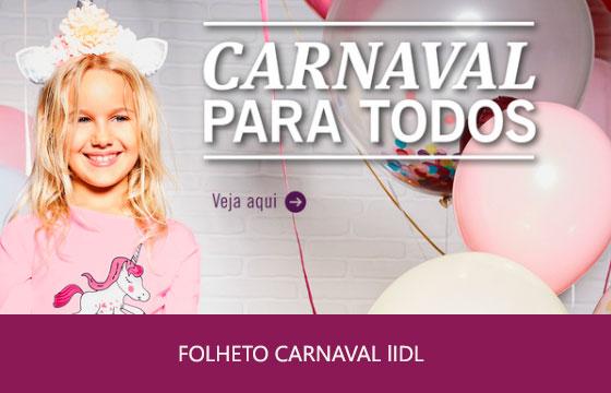 Folheto Lidl Carnaval