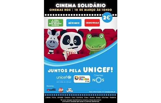 canal panda com cinema solidário