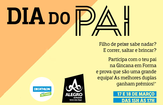 Dia do Pai no Alegro Alfragide