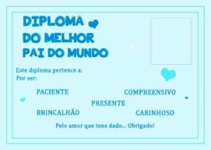 diploma-melhor-pai-mundo--azul-foto