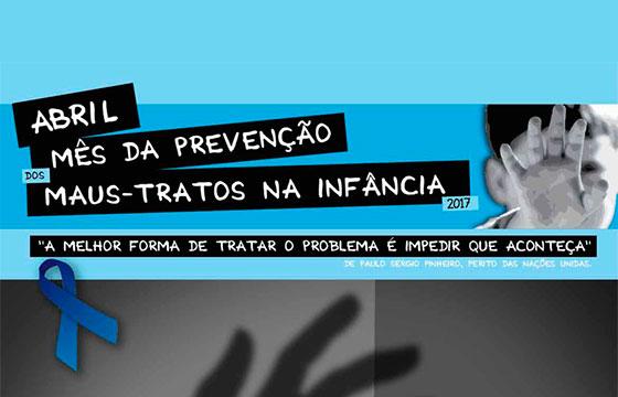 Abril mês da prevenção dos maus tratos na infância