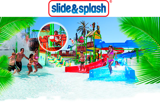 Parque Aquático Slide & Splash