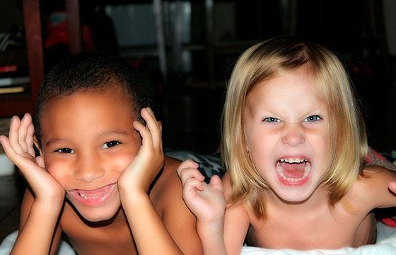 10 coisas engraçadas a fazer com os filhos