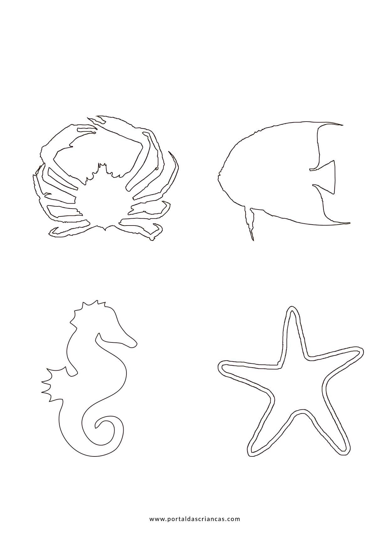 Desenhos De Verao Para Colorir Portal Das Criancas
