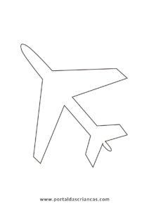 Clique aqui para imprimir o avião
