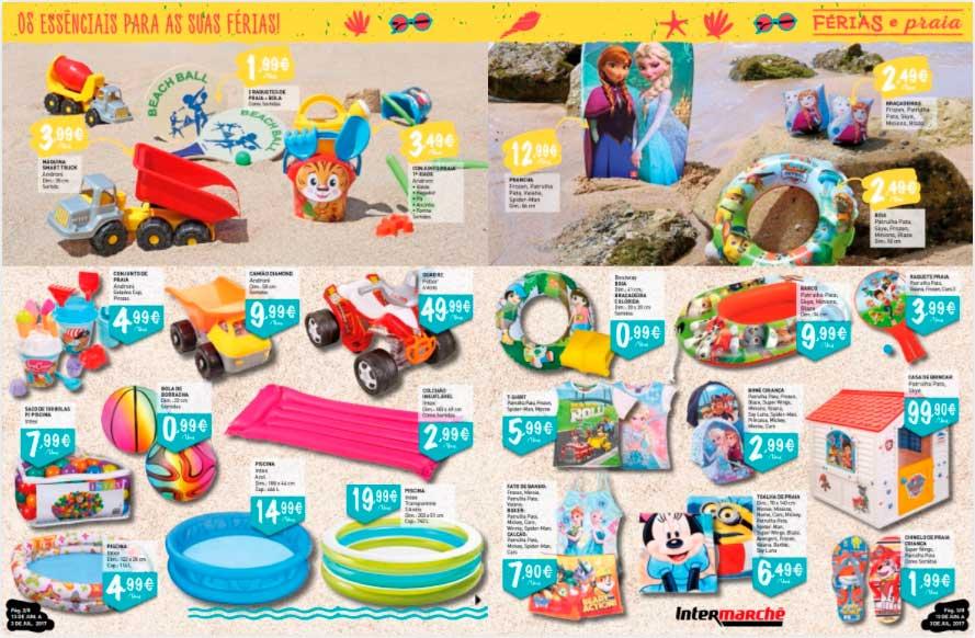 Folheto Intermarché Férias e Praia