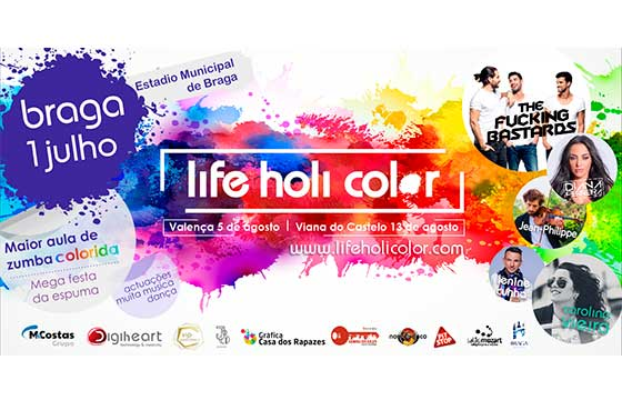 Life Holi Color Braga