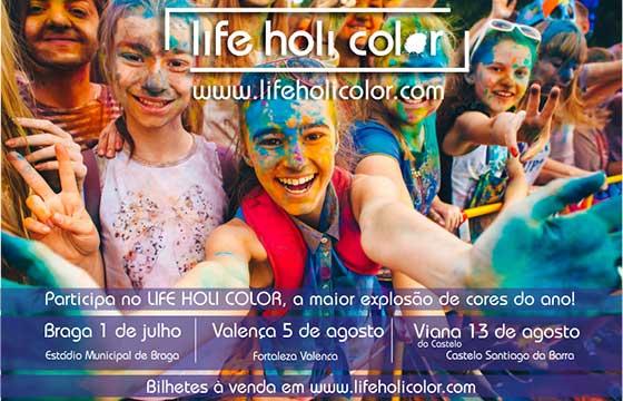 Life Holi Color - um festival de cores