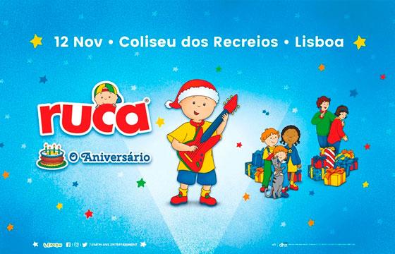 Concerto de Natal do Ruca em Lisboa