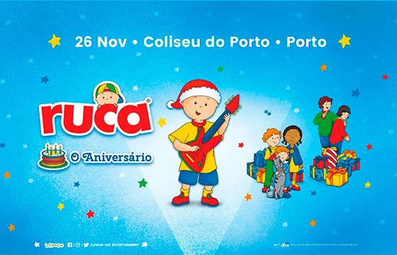 Concerto de Natal do Ruca no Porto