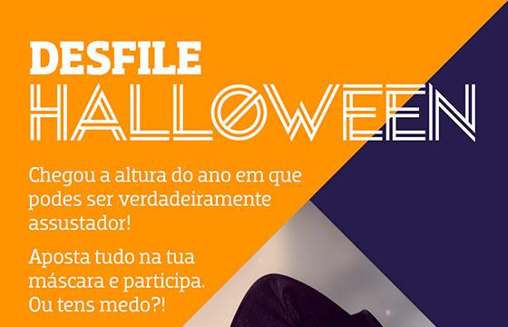 Desfile de Halloween no Alegro Alfragide
