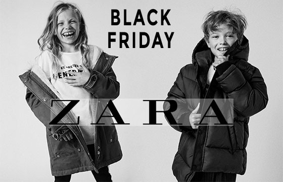 Black Friday na zara Kids