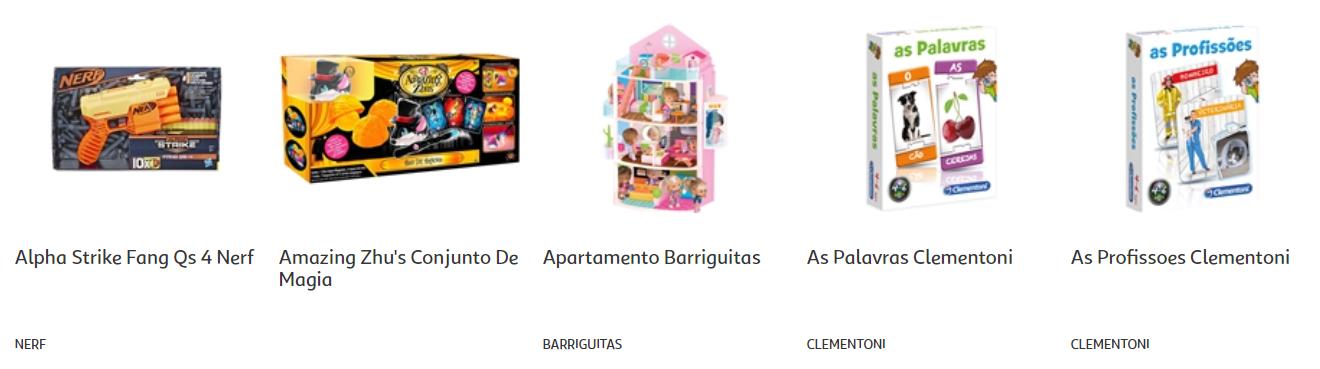folheto aucham brinquedos 2020