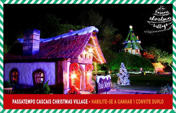 passatempo Cascais Christmas village