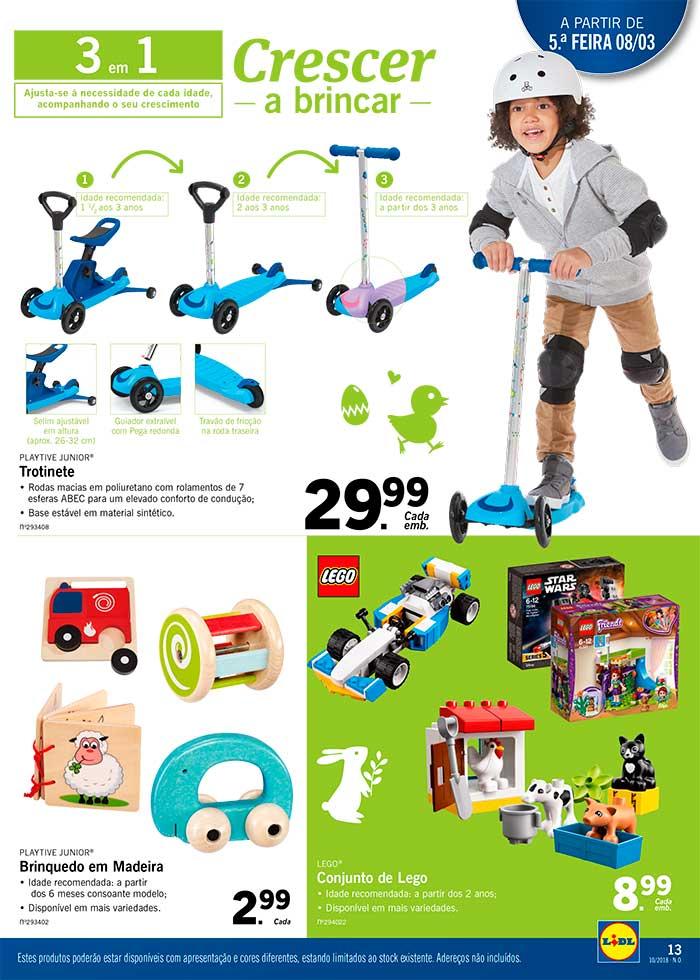 Folheto Lidl brinquedos