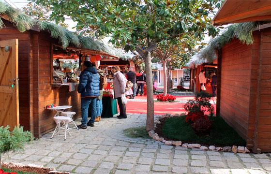 Mercado de Natal em Aveiro