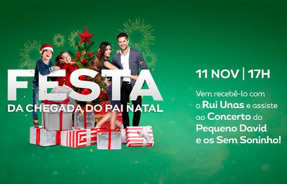 Natal no Forum Coimbra
