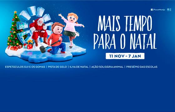 Natal no Forum Montijo