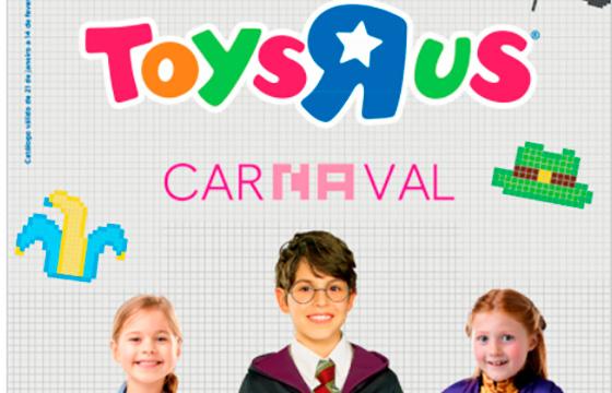 Folheto de Carnaval TOYSRUS (online)