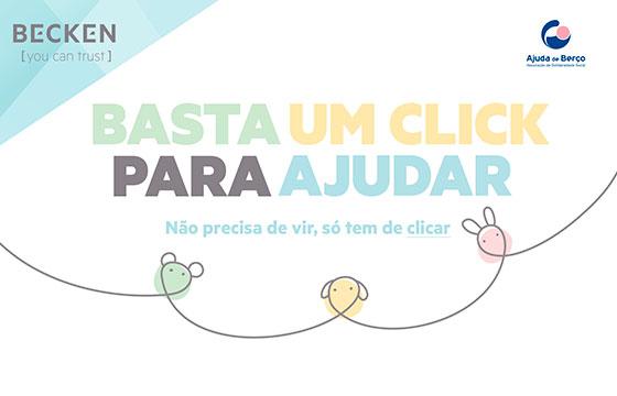 Becken Organiza Baby Shower Solidário