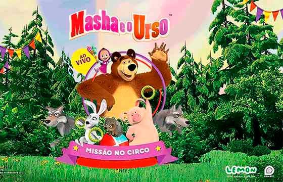 Espetáculo Masha e o Urso – Datas