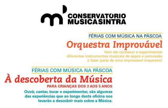 Férias da Páscoa no Conservatório de Sintra