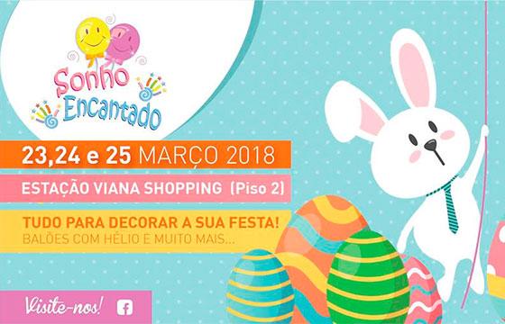 Páscoa Sonho Encantado na Estação Viana Shopping