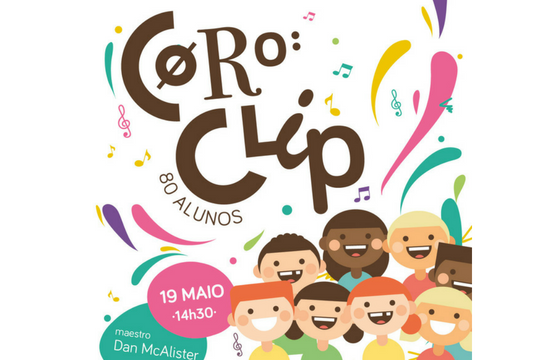 Coro do CLIP no MAR Shopping Matosinhos