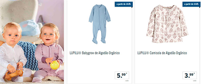 Folheto Lidl Bebé